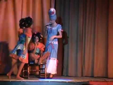 Show en San Pedro Del Mar en Santiago de Cuba 2010