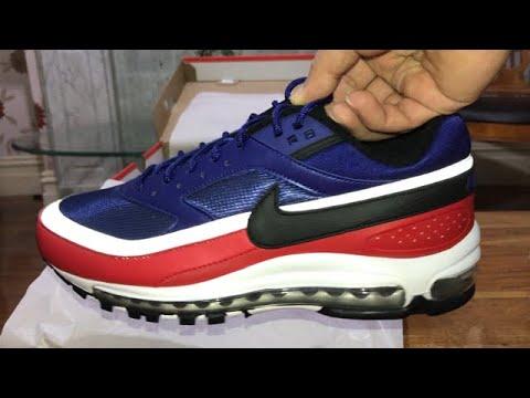 Nike Air Max 97BW Deep Royal BlueBlack Sneakers Trainers