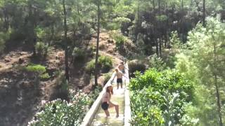 Dalyan Kaunos safari with Alper on the aqueduct