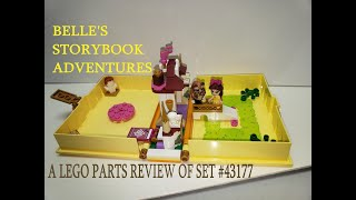 LEGO 43177 Disney Princess Belle/'s Storybook Adventures Castle Set from Beauty