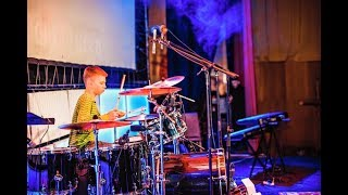 DRUM QUEST UKRAINE - Drum solo - Drummer Daniel Varfolomeyev 12 years