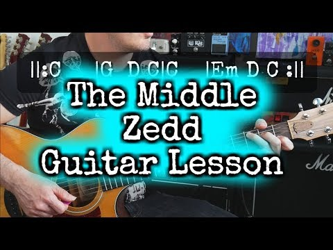 how to play the middle on guitar