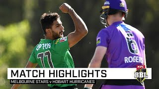 Rauf, Stoinis to the fore as Stars overpower Hurricanes | KFC BBL|09