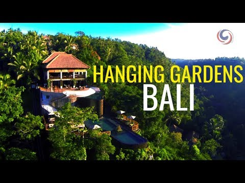luxury escapes hanging gardens ubud bali youtube. Black Bedroom Furniture Sets. Home Design Ideas