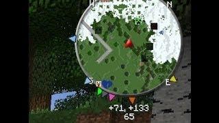 Мод 3D Миникарта для Майнкрафт 1.8