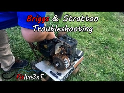 Troubleshooting 5hp Briggs And Stratton Tiller YouTube