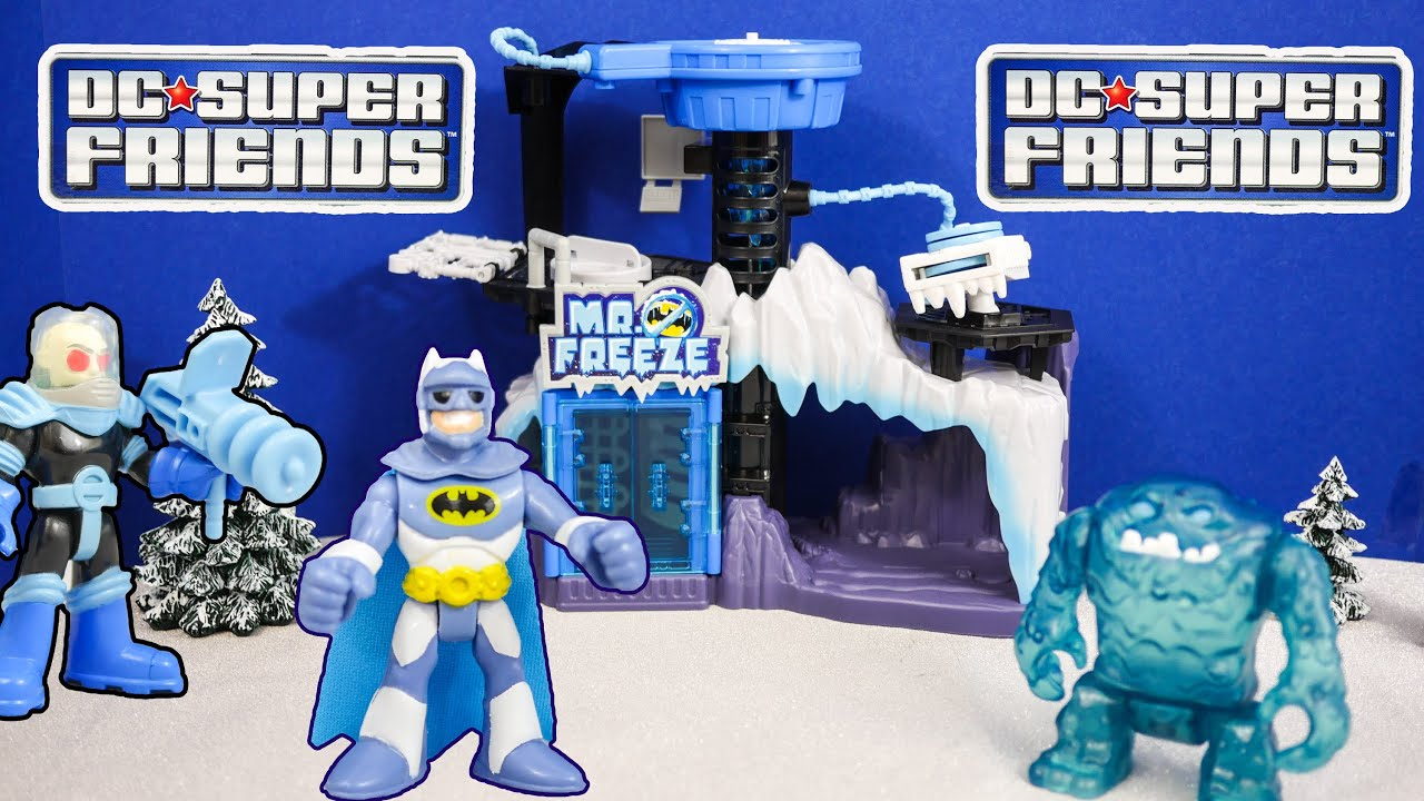 IMAGINEXT DC Heroes Batman Mr Freeze Play Set a Imaginext Batman ...
