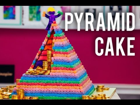 How To Make A Chocolate Pyramid Cake