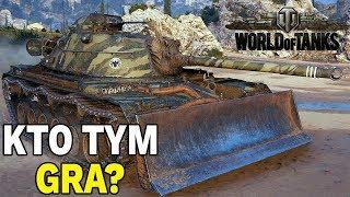KTO TYM GRA? - M48A2 Räumpanzer - WORLD OF TANKS