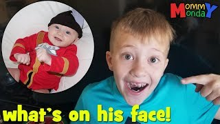 A Lizard Peed on my Face! || Mommy Monday