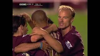 Download lagu Arsenal 4-1 Fulham 2005/06 PL EXTENDED HIGHLIGHTS