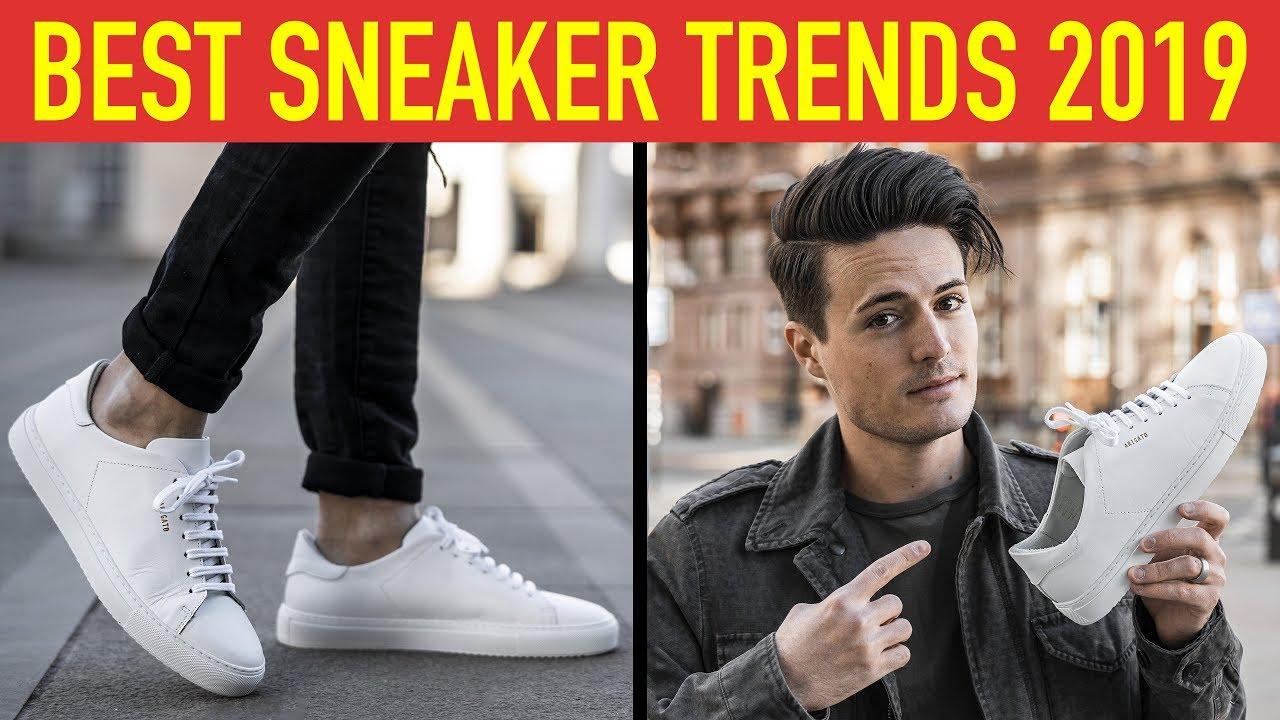 5 Best Sneaker Trends for Men 2019