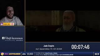 #ESAMovember Speedruns - Jade Empire [Any% Special Edition] by English_Ben