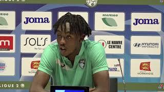 Après HAC - Grenoble (3-1), réaction de Tino Kadewere