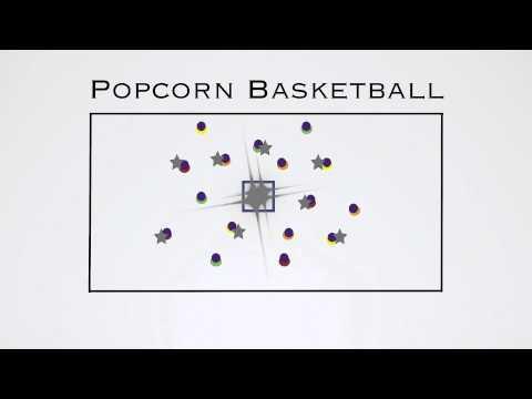 P.E. Games - Popcorn Basketball