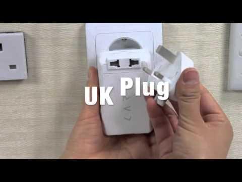【CARD】 CAP 萬國插座+行動電源 出國洽公唯一的好選擇 供可給150個國家插頭轉換