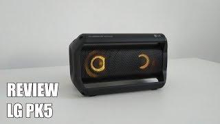 Review LG PK5 Nuevo Altavoz Bluetooth Portatil 2018