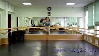 Видео уроки танца живота: Ковбойский танец (1 часть лицом)