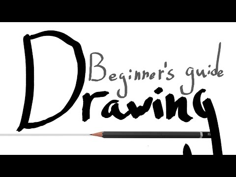 ANY IDIOT CAN LEARN TO DRAW - A Beginner's Guide to Drawing