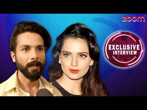 Shahid On Kangana's Allegation Exclusive Interview - zoom
