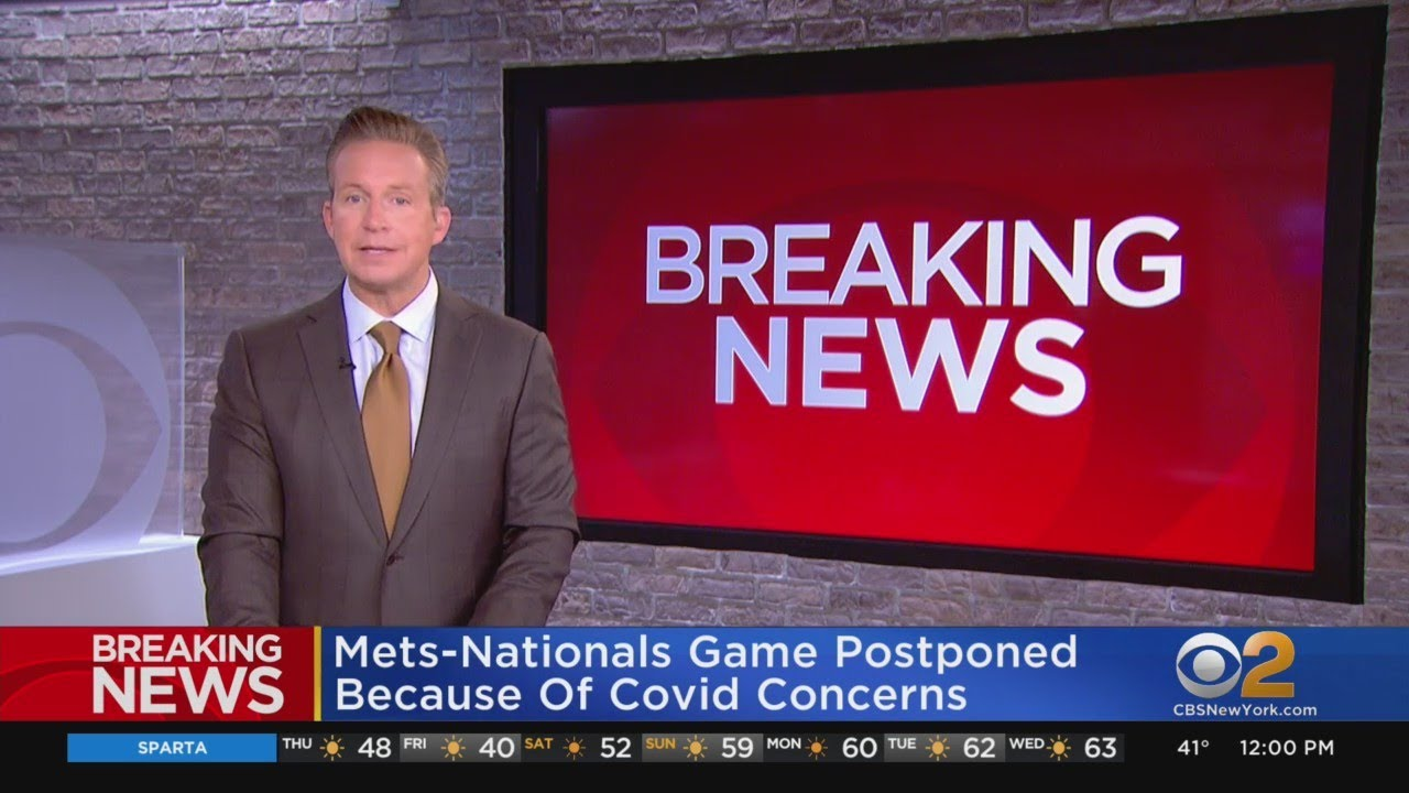 Mets Opening Day Game vs Nationals Postponed Due to Covid ...