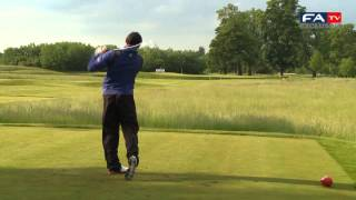 Rooney, Chamberlain, Walcott, Neville & England in Hole in One challenge