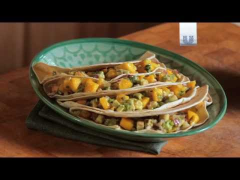 How to make fish tacos with avocado mango salsa youtube for Making fish tacos