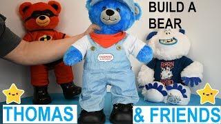 Build A Bear Thomas The Tank Engine Plush
