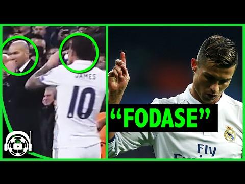 Lo que no se vio de James y Cristiano en CHAMPIONS LEAGUE || Borussia Dortmund