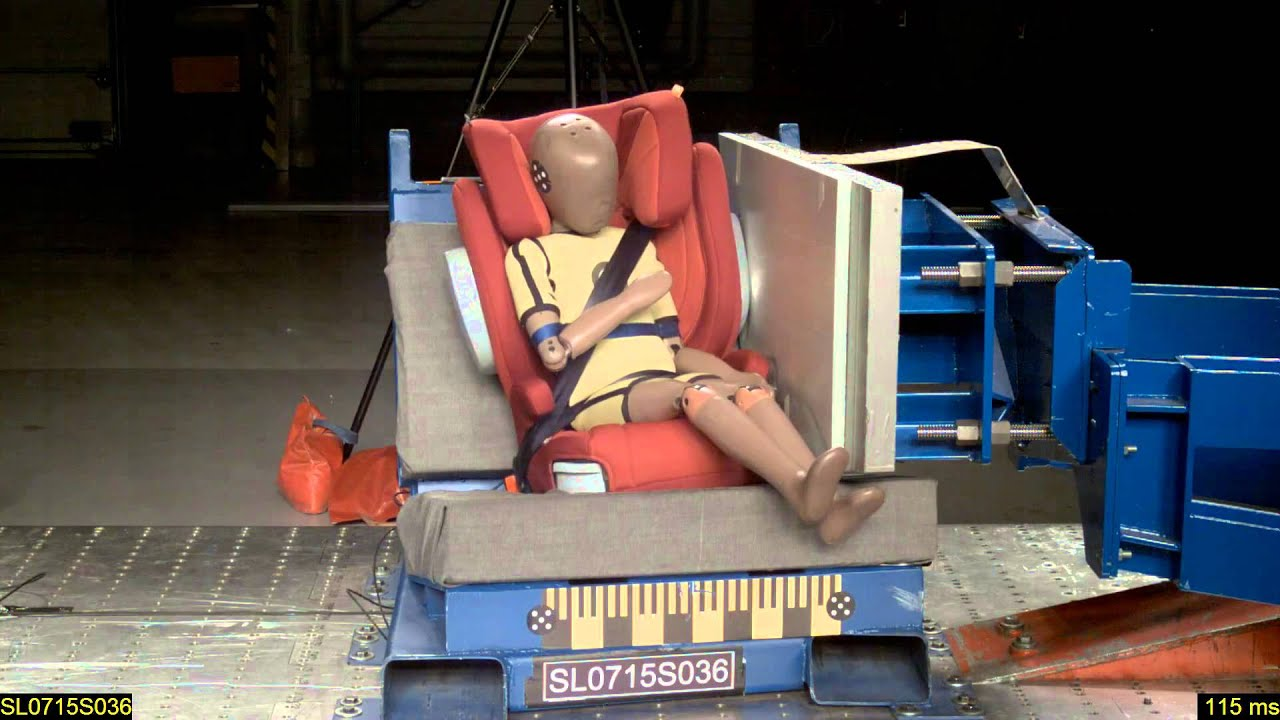 crash test joie trillo shield prueba de impacto 2015. Black Bedroom Furniture Sets. Home Design Ideas