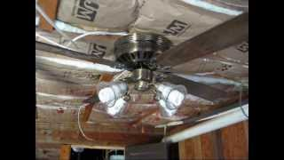 Ceiling Fans in my Cabin