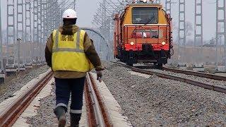 Строительство железнодорожного обхода Краснодара завершится на Кубани раньше срока