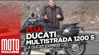 Ducati Multistrada 1260 S - la Ducati Express (essai Moto Magazine