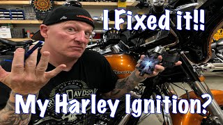 Harley Touring Ignition & Switch Removal & Alignment-I Fixed It!