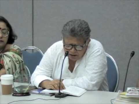Poet Sunil Gangopadhyay reading at NABC 2009