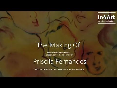 The Making of  Experiments by Priscila Fernandes supported by In4Art