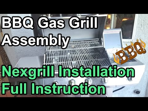Gas Grill Assembly and Installation - Nexgrill