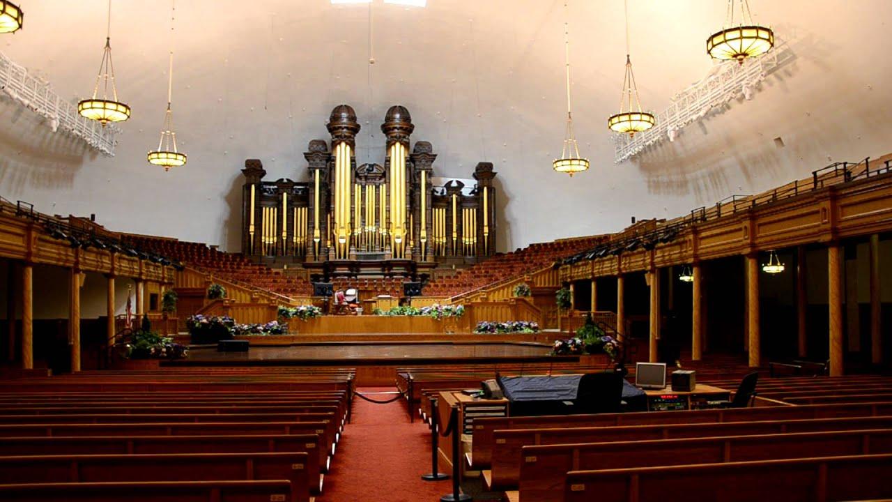 Mormon Temple Salt Lake City Organ