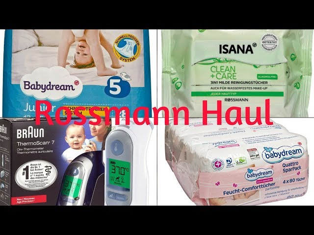 Rossmann Haul I Isana I Babydream I Alles rund ums Kind I Early Life