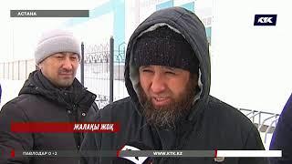 Астанада 600-ден астам жұмысшы жалақыларын талап етіп, наразылық білдірді