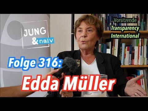 Edda Müller, Vorsitzende von Transparency International - Jung & Naiv: Folge 316