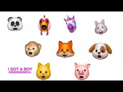 Emoji Singing I Got A Boy -- Girls' Generation  '소녀시대'  [Animoji]