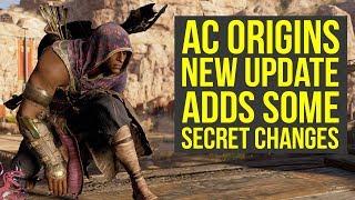 Assassin's Creed Origins Update 1.20 SECRET CHANGES Include Iconic Shield & More (AC Origins Secrets
