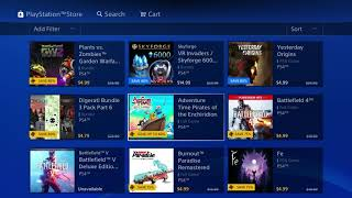 PS4 DEALS ON DEALS - PS PLUS DISCOUNTS $4.99 GAMES!