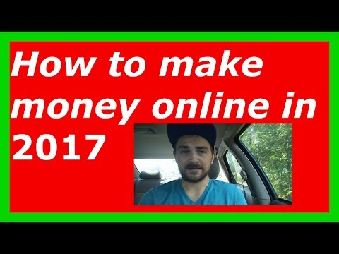How To Make Money Online in 2017 | Make Money Online in 2017 | Work from home jobs