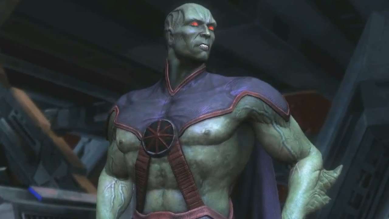 Martian Manhunter Reveal - Injustice: Gods Among Us - Evo 2013 ...