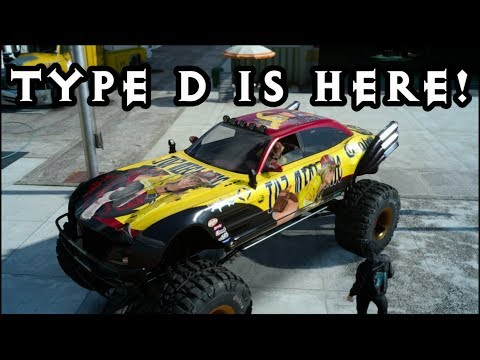 Final Fantasy XV - Regalia TYPE D IS HERE! Off road car Patch 1.11 - 1.12