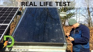 Building a Solar Hot Water Competition, Thermal vs. PV