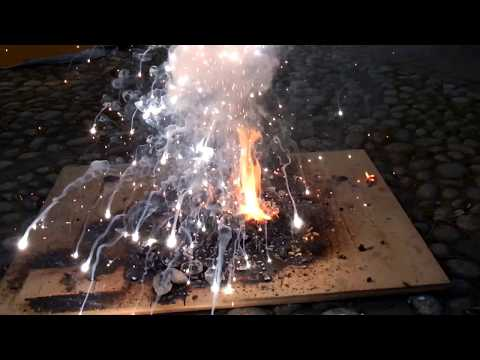 English Video 1 Cut & Destruction Burning Magnesium Vs Water Hot Fire Explosion Action By Flo & Lou