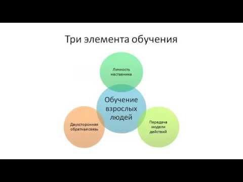 Обучение и развитие персонала. Руководитель как наставник. 1 урок.